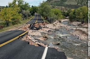 Hwy7 floods CDOT